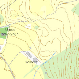 Urnes Stave Church - Urnes norway map
