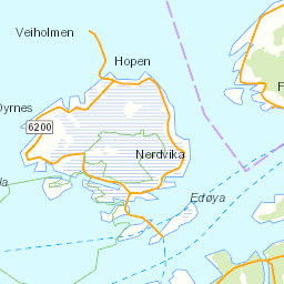 Northwest Norway Towns Attractions Things To Do - Norway map highlights